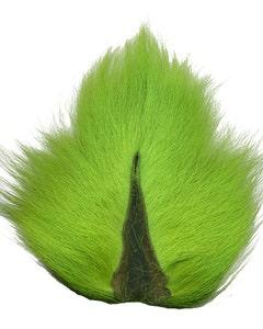 Deer Tails; Medium - Flourescent Lime Green