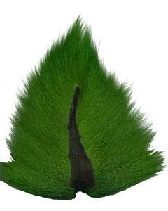 Deer Tails; Medium - Kelly Green