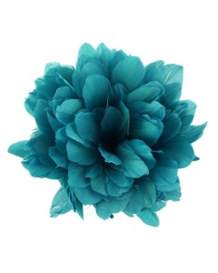 Goose Parried Pallets Dyed 0.50YD Aquamarine