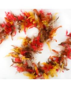 Chandelle Boas Multi Colors - Fall Mix