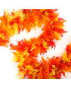 Chandelle Boas Multi Colors - FIRE