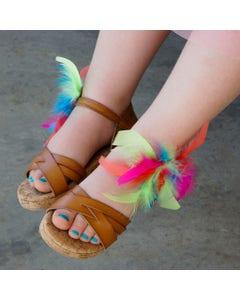 Feather Shoe Clip