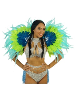 Carnival Princess Feather Epaulet
