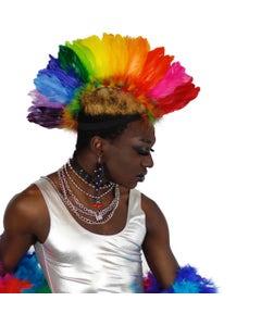 Rainbow Feather Mohawk