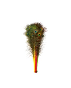Peacock Tail Eyes Stem Dyed Mix - Neon Mix