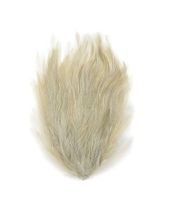 Feather Hackle Pads Dyed - Beige