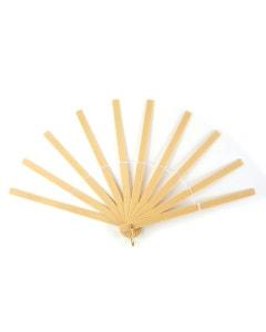 Plastic Fan Stave - Beige