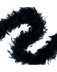 Chandelle Boas Solid Colors - Black