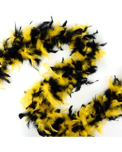 Chandelle Boas Multi Colors - Black/Gold