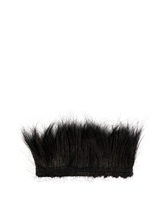 Peacock Flue (Herl) Burnt-Dyed Feathers [{WEDDING CENTERPIECES}]  - Black