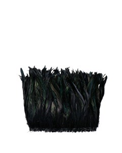"""Rooster Coque Tails Feathers Dyed Over Half Bronze 9-12 """" [1/4 LB Bulk]"""