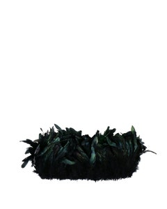 """Rooster Coque Tails Feathers Dyed Over Half Bronze 3-6"""" [1/4 LB Bulk]"""