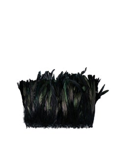 Rooster Coque Tails-Dyed - Black