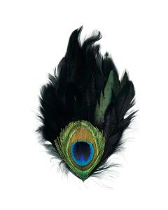 Peacock Eye-Schlappen Pad - Black Natural
