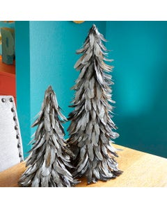 """Schlappen Tree 24"""" Gilded with Paint Black/Silver"""