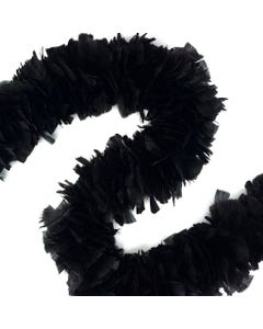 Turkey Boas Solid Colors - Black