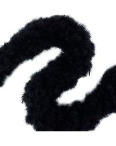 Turkey Marabou Swan Boas - Black