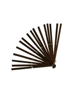 Bamboo Fan Stave - Brown