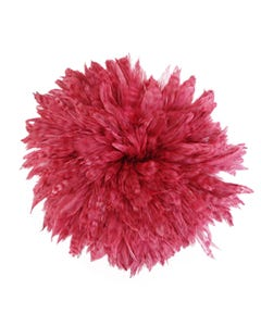 Rooster Schlappen-Red Chinchilla 1YD - Beet