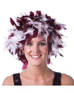 Alabama Crimson Tide Feather Wig