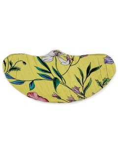 Fabric Protective Face Mask - 5 Pieces - Yellow Floral