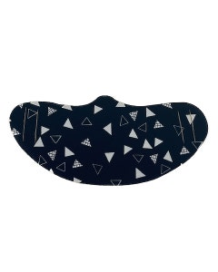 Fabric Protective Face Mask - 5 masks - Geometric Black and White
