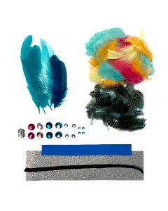 FEATHER CROWN KIT SEAGREEN
