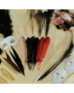 FEATHER CRAFTER KITS - NATURAL