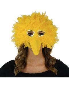 BIG BIRD FEATHER MASK
