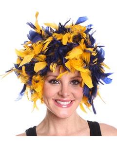 Norte Dame Fighting Irish Feather Wig