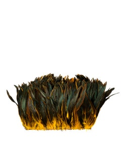Rooster Coque Tails-Dyed - Gold