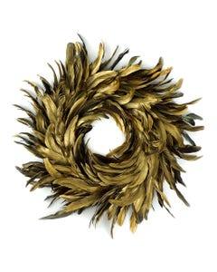 Gold Schlappen Wreath