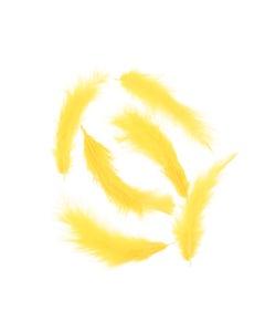 Loose Turkey Marabou Dyed - Gold