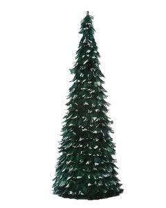 Goose Coquille Green Feather Tree