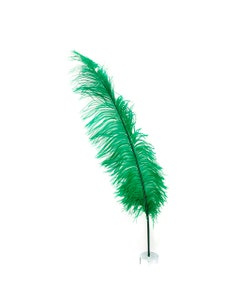 Ostrich Feathers-Spads Selected - Emerald