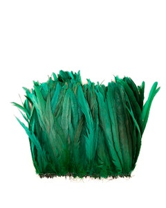 Rooster Coque Tails-Bleach-Dyed - Kelly