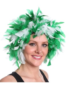 Michigan State Spartans Feather Wig