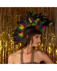 Mardi Gras Mohawk Feather