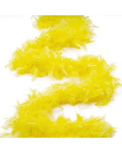 Chandelle Boas Solid Colors - Yellow