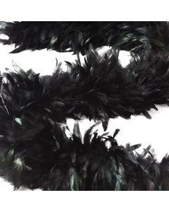 Schlappen Boa-Dyed Iridescent - Black/Iridescent