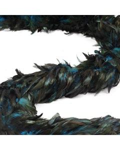 Schlappen Boa-Half Bronze Irid - Dark Turquoise
