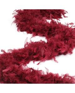 """ZUCKERâ""""¢ Chandelle Boas Heavy Weight Solid Colors Burgundy"""