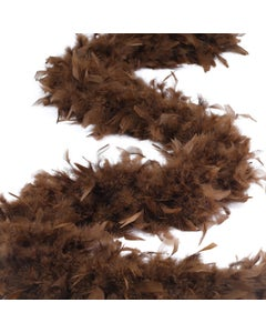 Chandelle Boas Solid Colors - Brown