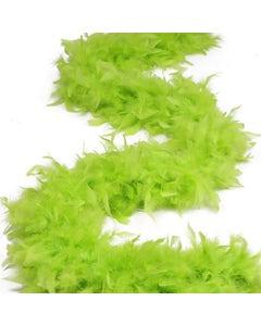 Chandelle Boas Solid Colors - Lime