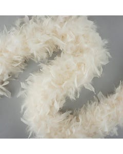 Chandelle Boas Solid Colors - Ivory