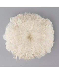Ivory Goose Coquille Feather