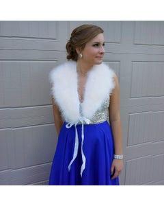 Prom Feather Shawl