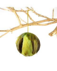 Dyed Mallard Duck Feather Ornament