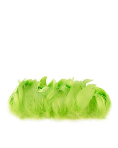 Goose Nagorie Feathers Dyed - Lime
