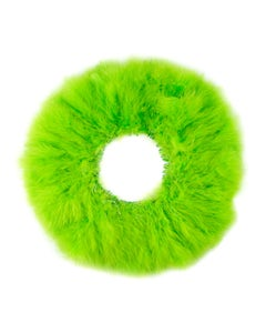 """TURKEY MARABOU GOOD QUILL FEATHERS  3-4"""" - LIME"""